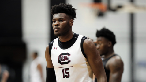 First look: South Carolina big man Wildens Leveque