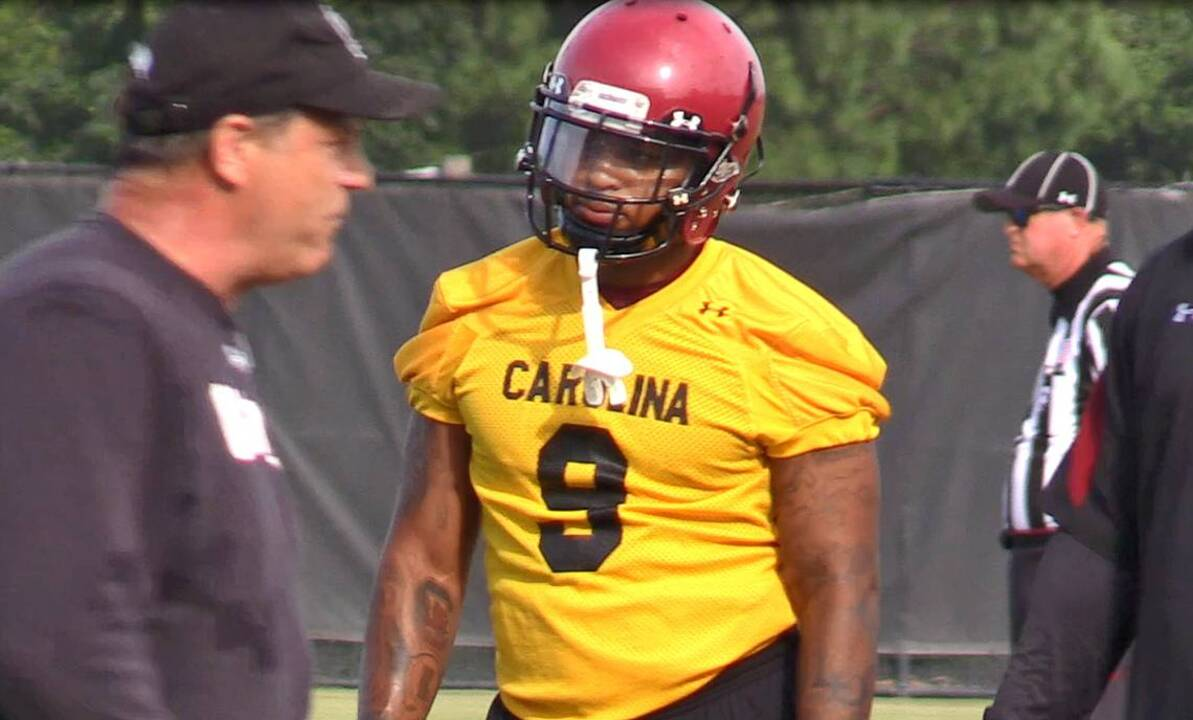 Keisean Nixon debuts for South Carolina Gamecocks football ...