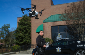See how Richland deputies used a drone to catch an accused killer