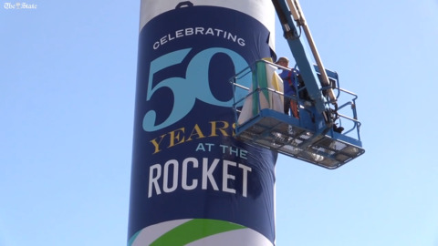 SC State Fair celebrates rocket's 50th birthday in a unique way