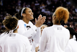 Watch A'ja Wilson and the Gamecocks final home game of the season