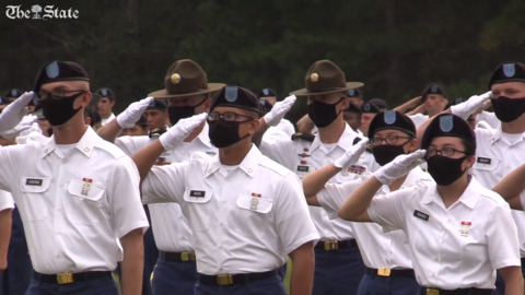 Soldiers continue training at Fort Jackson during Coronavirus Pandemic