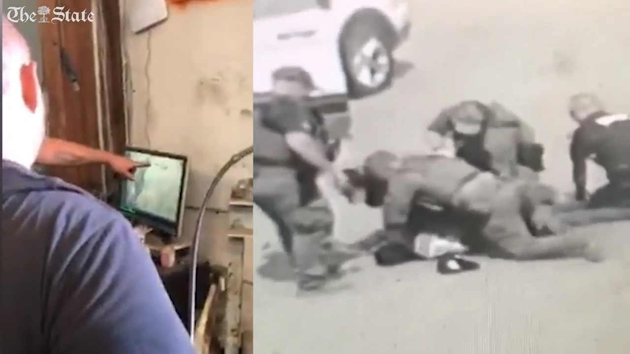 Deputy fired after video shows officers punching a man on the ground, SC sheriff says