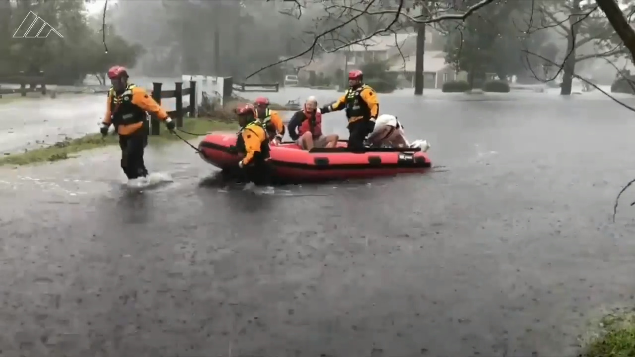 Hurricane Florence Rescues In New Bern Craven County Nc Beaufort