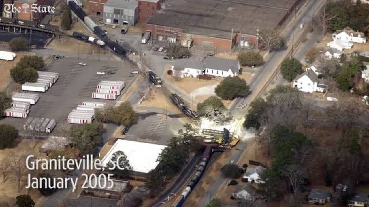 A train in Greenwood County derail, spilling peroxide | The State