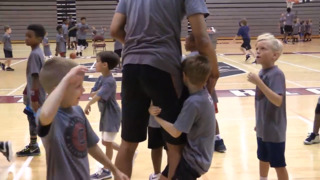 See what its like to run a USC camp with hundreds of youth basketball players