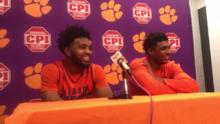 Clemson seniors Donte Grantham, Gabe DeVoe preview NCAA Tournament