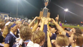 Watch: White Knoll softball celebrates first state title
