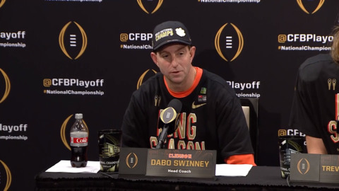 Three Rock Hill-related questions following Clemson football's national championship