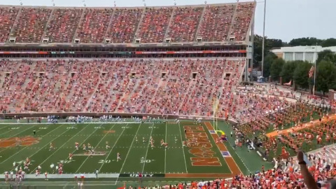 Look: What Clemson's football stadium looks like with new crowd rules in place