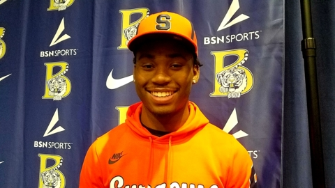 Blythewood defensive back Chase Atkinson signs with Syracuse football