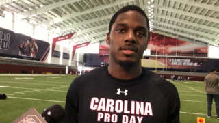 'Why not do it?' Walk-on Demetrius Smalls participates in USC pro day