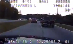 Harrowing high speed chase ends in firefighter death
