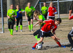 A referee's call was questioned by a soccer mom. He had an answer.