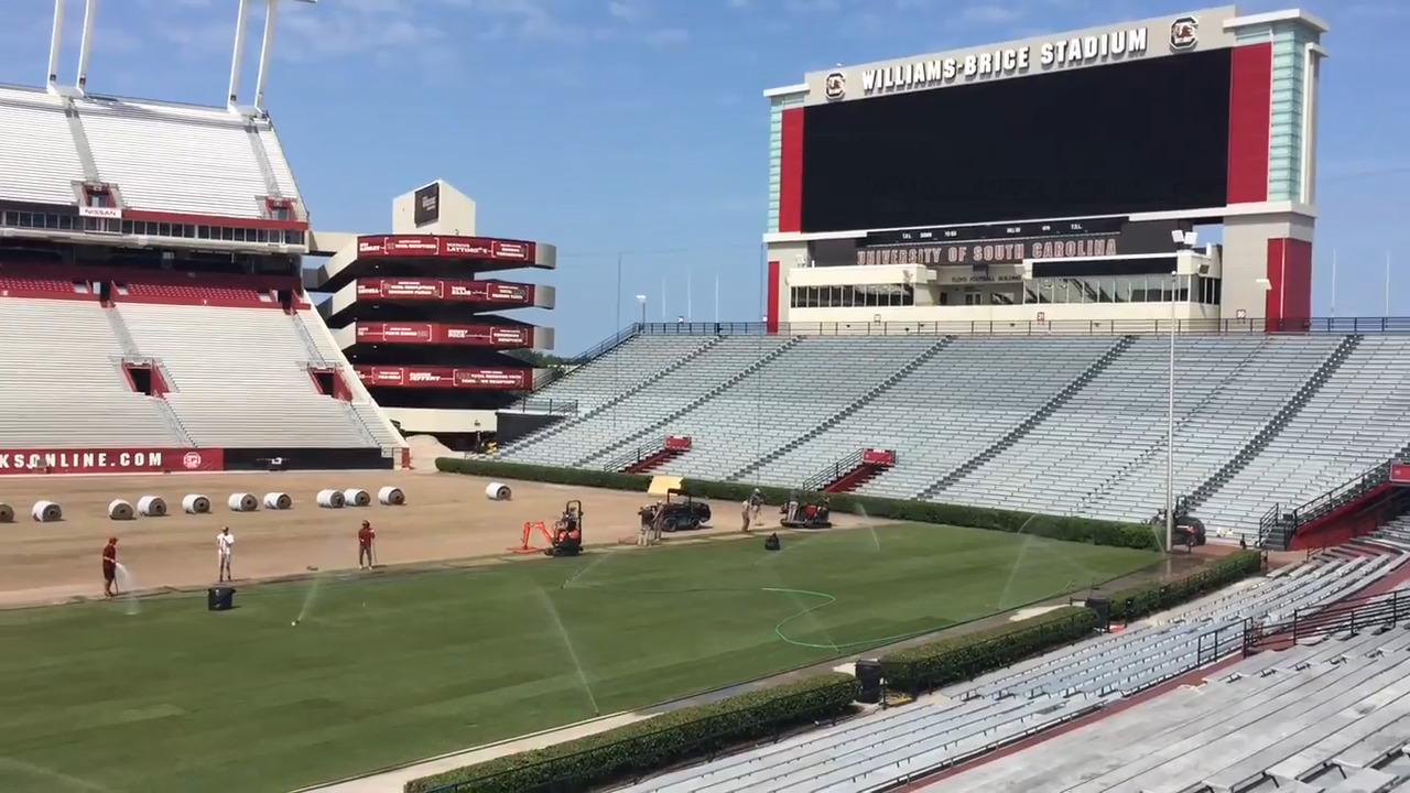 South Carolina football adds new field after Beyonce ...