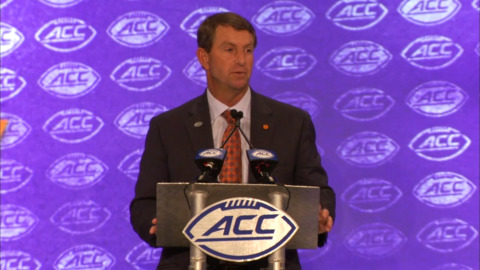 Clemson overwhelming choice to win another ACC football title