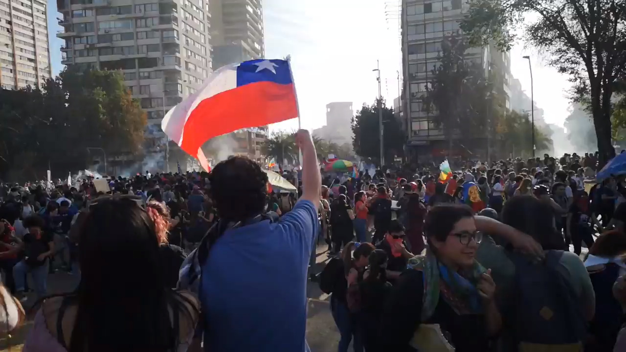 Man seen on video shooting at Chilean protesters once ran for office in South Carolina