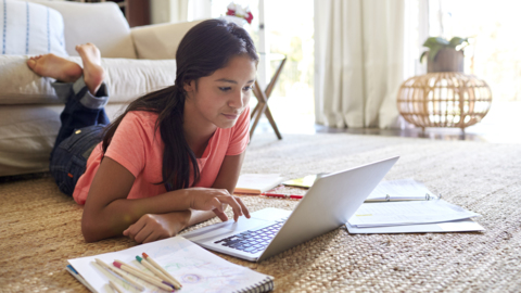 Remote learning means more time online. Here are tips for keeping your kids safe