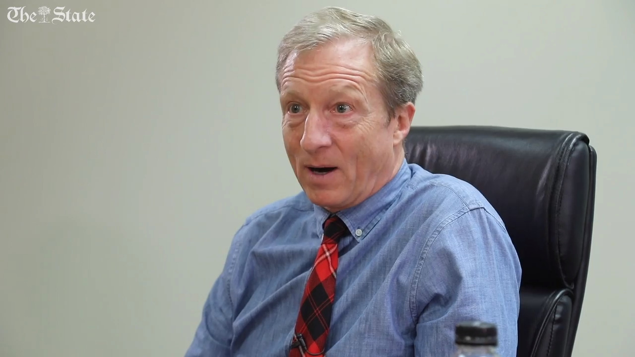 Democratic candidate Tom Steyer's poll numbers are rising. Will he catch on in NC?