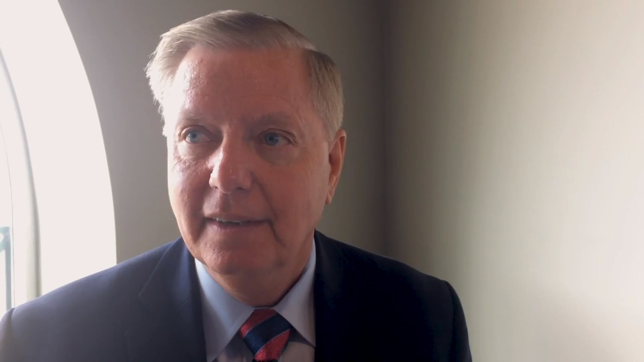 Lindsey Graham isn't in Beaufort County. Town hall organizers plan cardboard stand-in