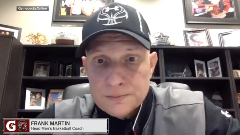 Frank Martin describes the bubble the Gamecocks are operating in