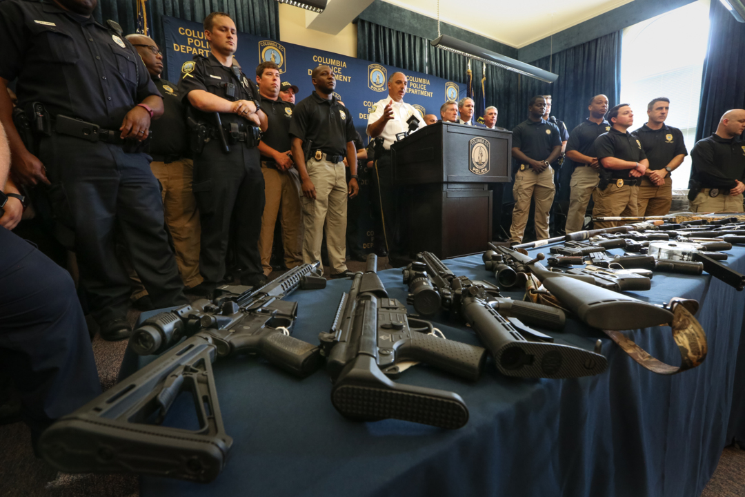 Feds Sc Police Targeting Bad Guys With Guns The State