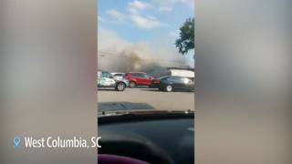 See fire that destroyed The Trading Post in West Columbia