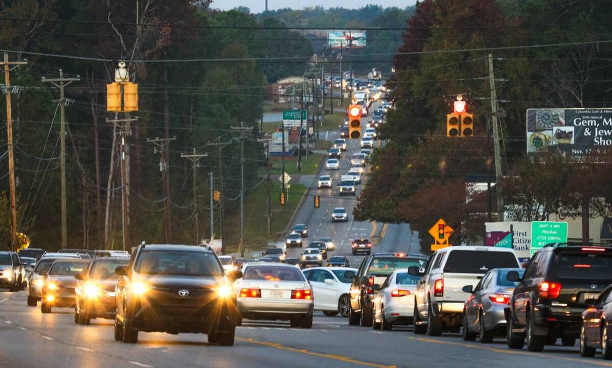 Travel on U S  378 near Lexington Medical Center is congested | The