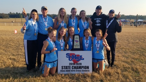 Watch: Hilton Head Island, May River celebrate cross country titles