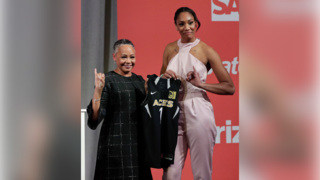 A'ja Wilson 'blessed and honored' with WNBA Draft experience