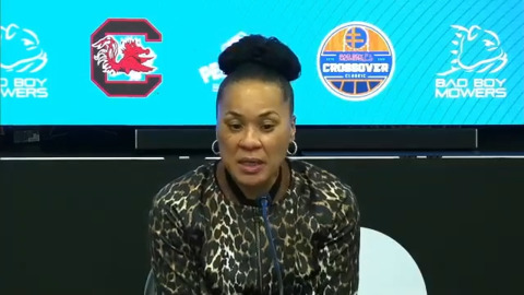 Dawn Staley on early test for USC: 'Super proud' of young team