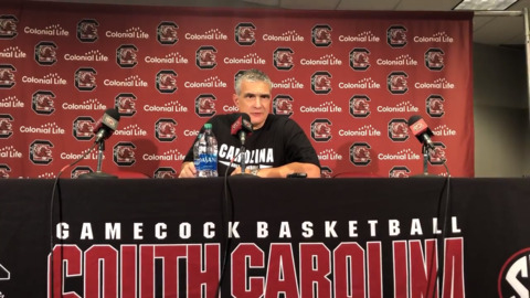 Frank Martin recaps loss to Boston University