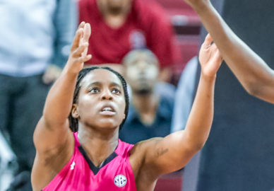 Doniyah Cliney playing like a veteran for Staley
