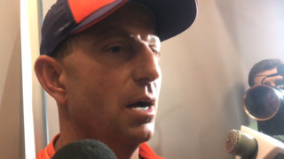 Dabo Swinney talks Clemson spring game, quarterbacks