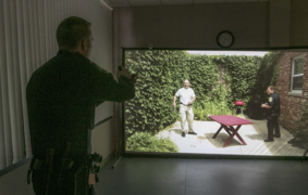 Fairview Heights police simulator will help train officers in de-escalation