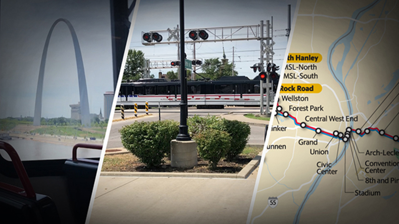 78-year-old struck by MetroLink in East St. Louis, taken to hospital, authorities say