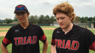 Triad baseball wins sectional championship