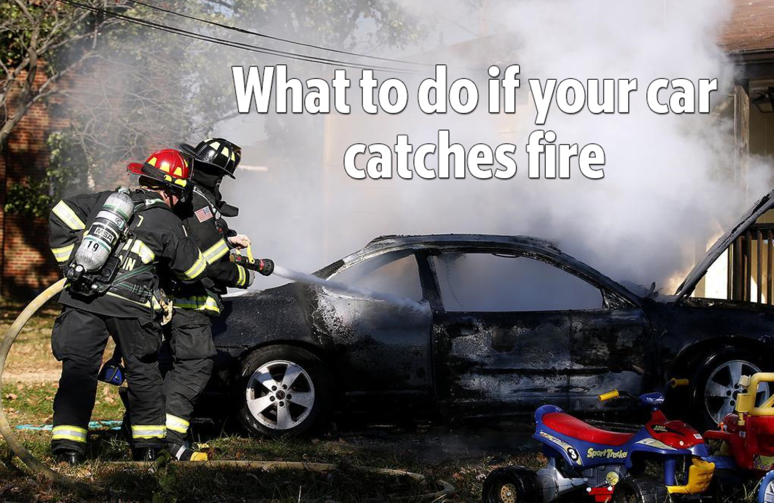 Firefighters roll for cars into trees, onto barriers, down banks and on fire