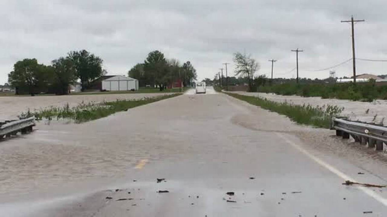 Forecast, flood conditions, road closings and openings
