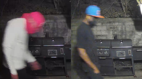 Men in security video may be connected to Collinsville murder. Police seek help to ID.
