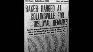 German immigrant in Collinsville was the first lynched on US soil during WWI