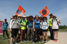 National church group treks through Shiloh from Kentucky for 'fossil free world'