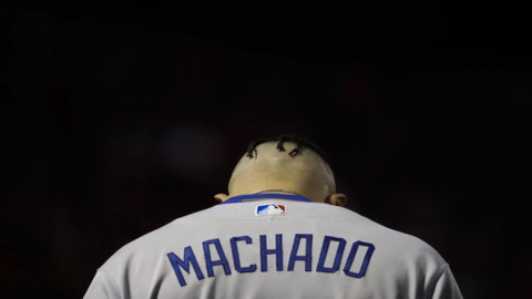 What is Manny Machado doing besides convincing teams that he's not worth pursuing?