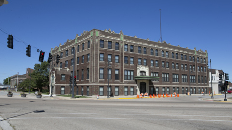Tour the new apartment complex in the Old Granite City, Illinois YMCA building