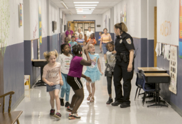 Here's how this school resource officer works to connect with kids