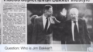 Who is Jim Bakker?