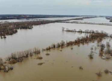 The Mississippi is finally below flood stage, but not before obliterating a record