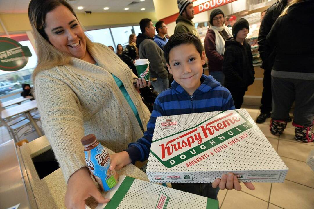 Hey, donut lovers! Krispy Kreme will deliver donuts straight to your door — here's how