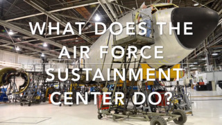 What does the Air Force Sustainment Center do?