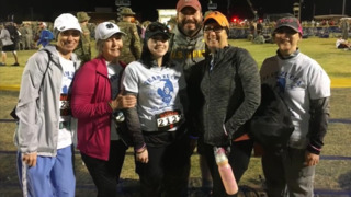Sisters share experience walking in Bataan Memorial Death March